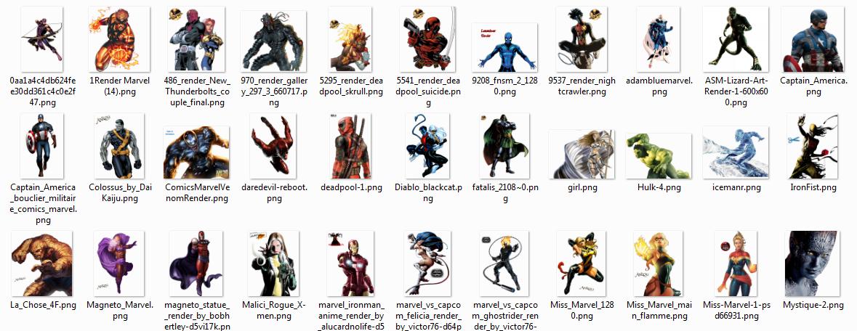 [RENDERS] 45 Renders Marvel NkP7b